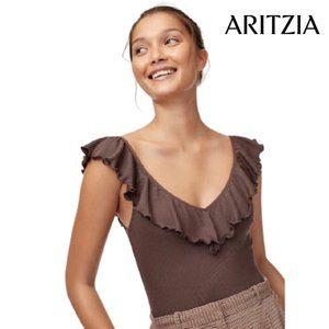 Aritzia Wilfred Danette Bodysuit